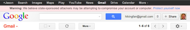 state sponsored attackers gmail